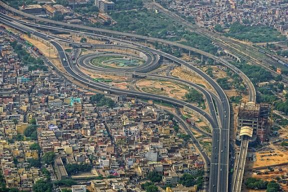 Delhi Flyovers Pictures Badarpur Delhi Flyover.jpg